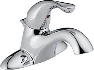 Delta Faucet 520-PPU-DST Touch-on-Bathroom-Sink-faucets, Pack of 1, Chrome