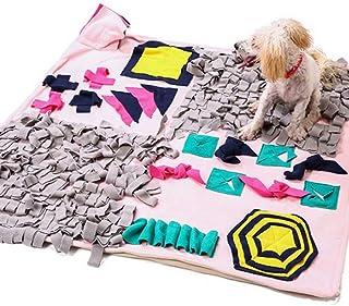 Pet Snuffle Feeding Mat,Machine Washable Training Mats Pad, Activity Puzzle Toy, Medium Puppies Foraging Skill, Stress Rel...