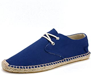 Men's Classic Canvas Slip-On Original Loafer Flat Shoes Casual Sneaker Espadrille