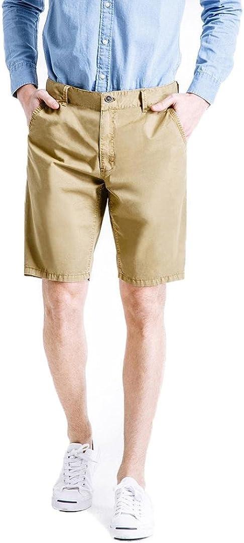 PASATO New! Mens Casual Pocket Beach Work Casual Short Trouser Shorts, Classic Gargo Pants