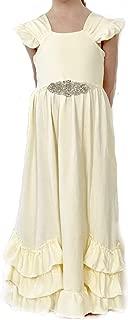 Various Styles; Jennifer and June Ruffle Princess Dresses for Toddler Girls.