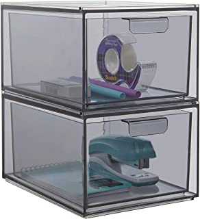 "STORi Mod Stackable Storage Drawers 4-1/2"" Tall 