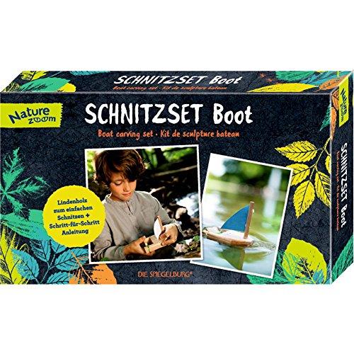 Spiegelburg 13885 Schnitzset Boot Nature Zoom