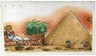 CIKYOWAY Luxury Blanket Cleopatra VII Philopator Egypt Pharaoh Illustration Plush Shawl Blanket Throws Bed Sofa Couch Chair
