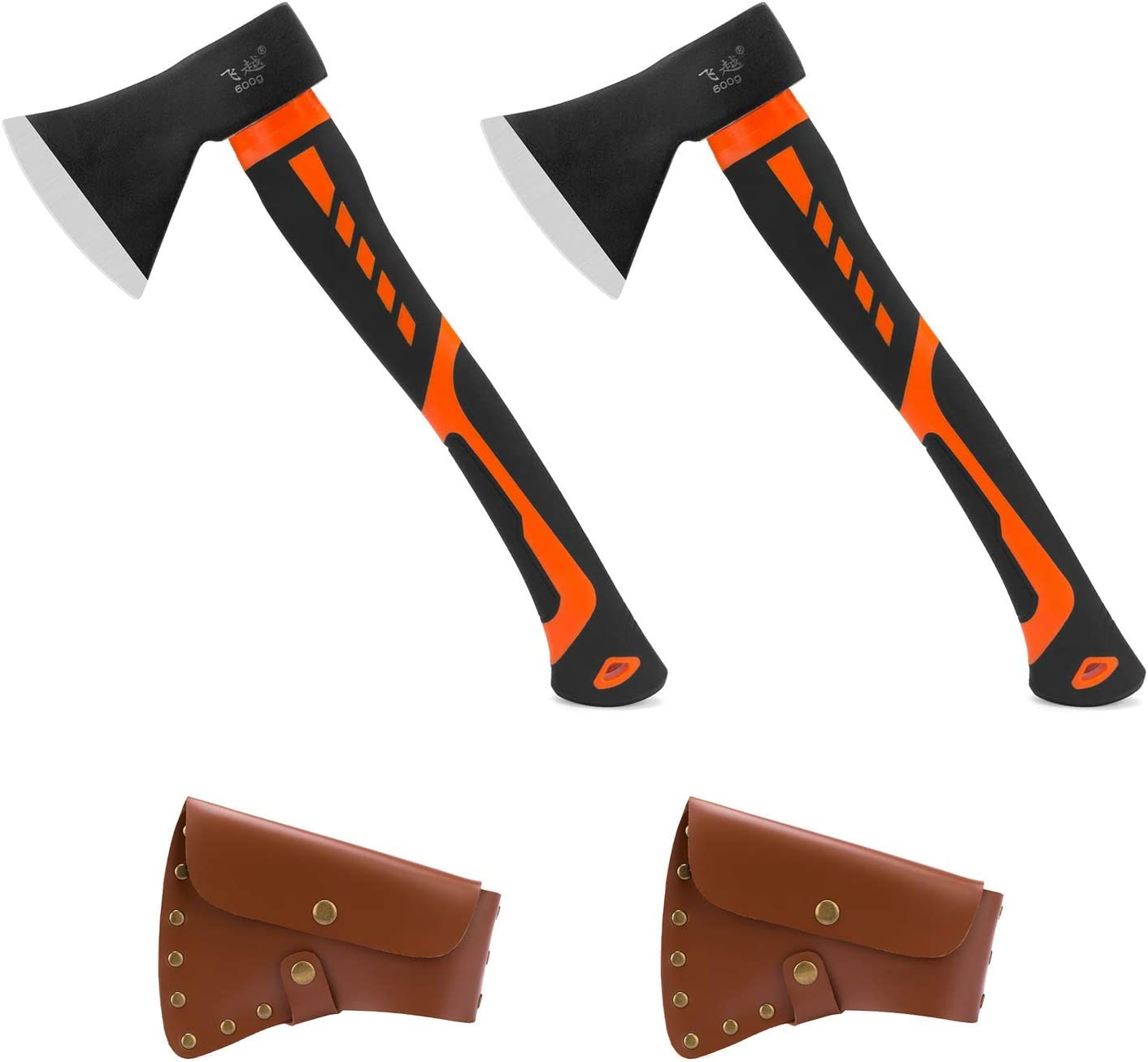 2 Pack Firewood Ranking TOP7 Chopping Axe Camping Hatchet Popular product Forge Gardening