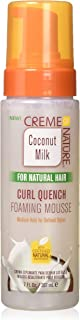 Creme Of Nature Coconut Milk Curl Quench Foaming Mousse 7 Ounce (207ml)
