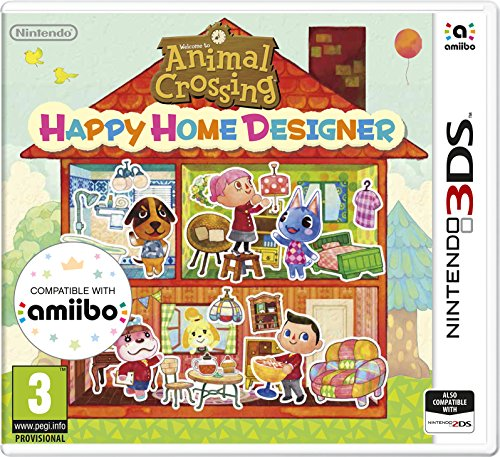 3Ds Animal Crossing : Happy Home Designer + Special Amiibo Card (Eu)