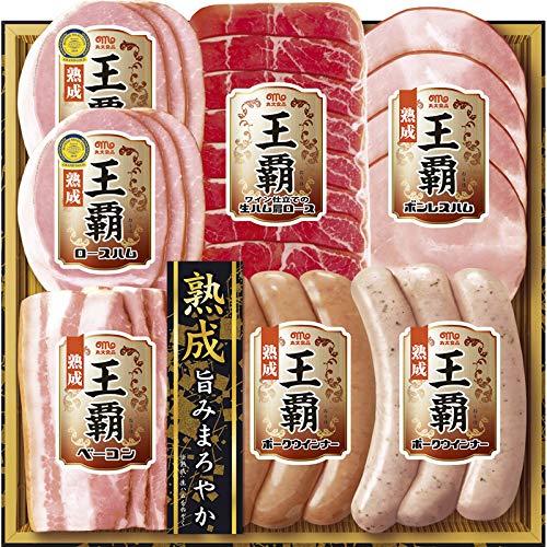 丸大食品 王覇ハムギフト MO-300【お肉 晩ごはん 詰め合わせ つめあわせ 贅沢 ごちそう おいしい 美味しい うまい お取り寄せ グルメ 】