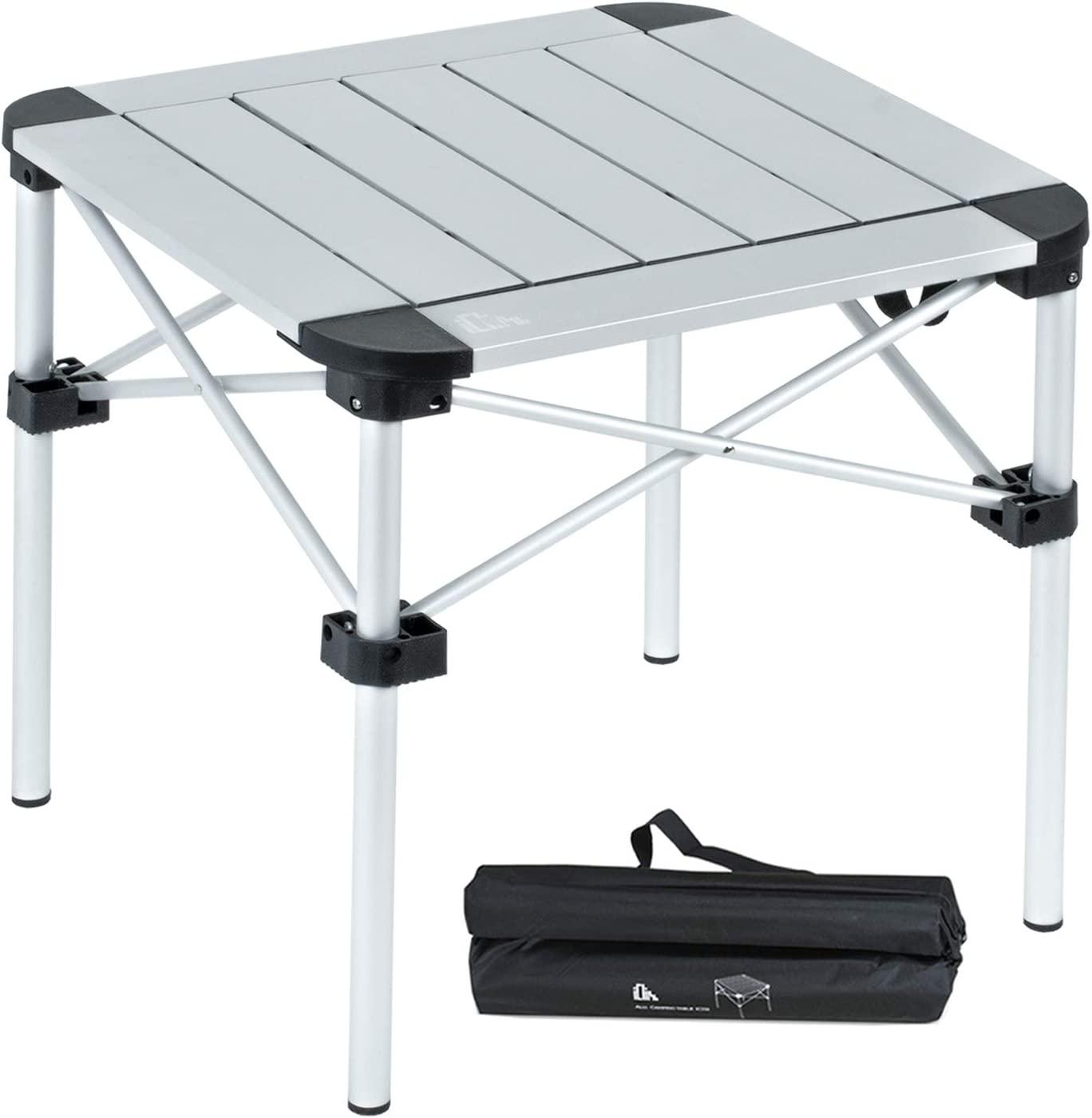 iClimb Lightweight Stable Alu. Now on sale Folding Table Cash special price Roll Square Up Top