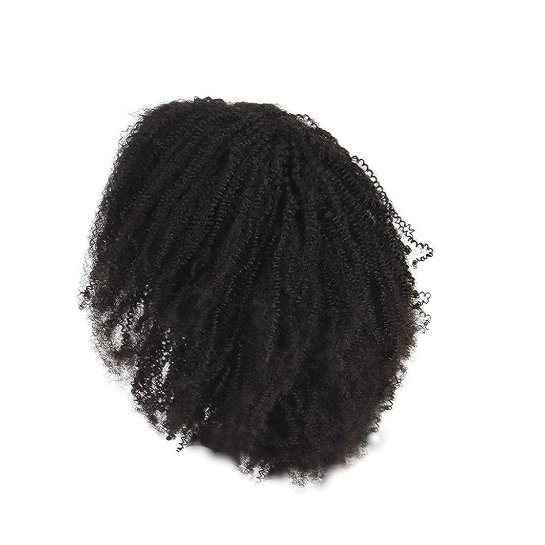 挽く花に水をやる作者かつらレース化学繊維爆発ヘッド小体積短い髪かつらの前に