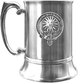 Kerr Scottish Clan Crest Pewter Badge Tankard