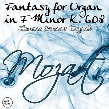 Mozart: Fantasy for Organ in F Minor K. 608