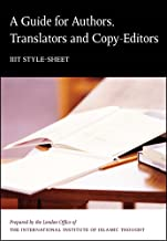 A Guide For Authors, Translators, and Copy-Editors: IIIT Style Sheet (English Edition)