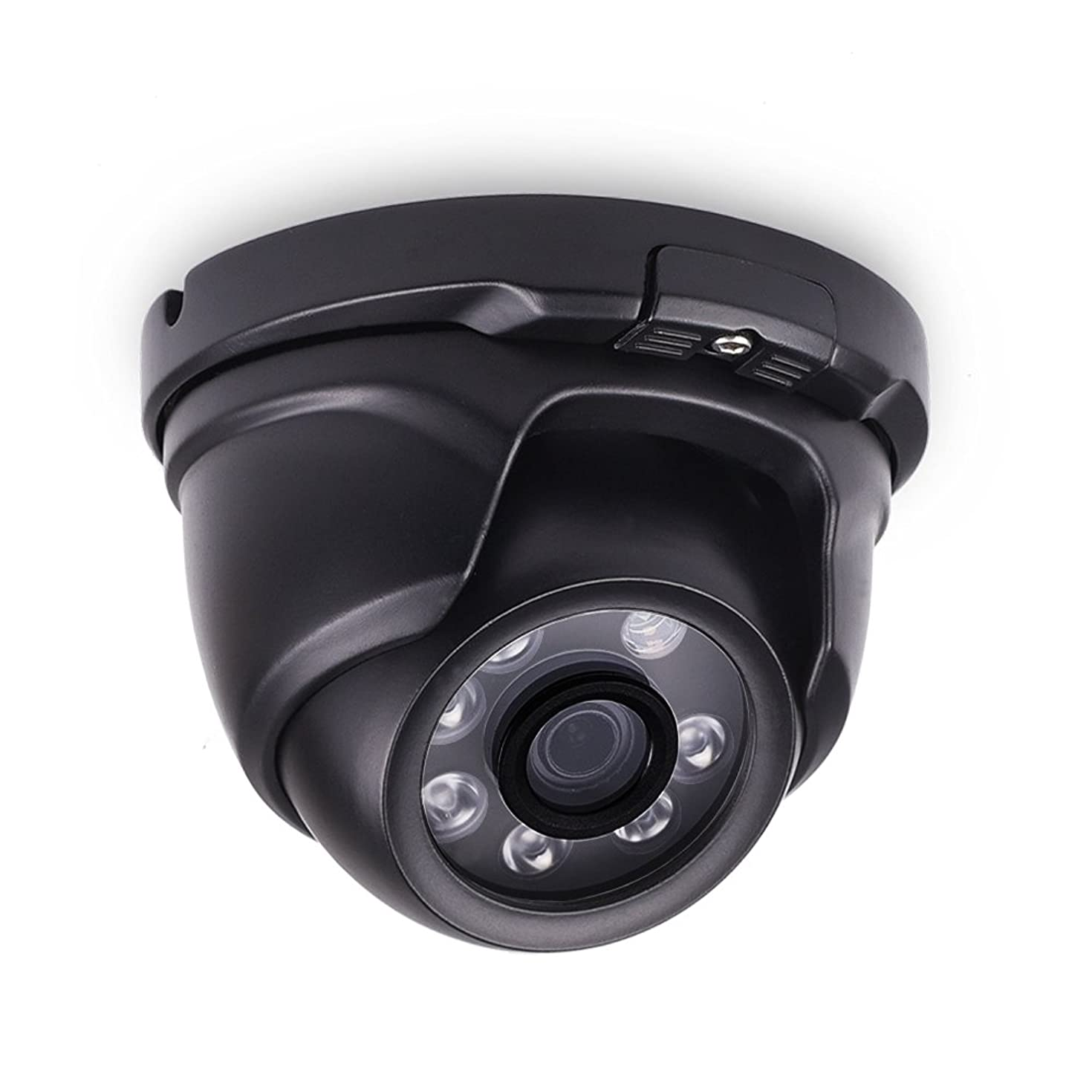 LONNKY Home Security Camera,1080P 2.0MP Full HD TVI Analog Dome Camera and IP66 Waterproof Outdoor CCTV Home Surveillance Security System with 80ft Night Vision, 3.6mm Lens Wide Angle