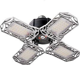 LED Garage Lights E27 Bulb 80W Ceiling Light Fixtures for Garage Workshop Basement