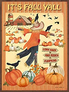 It's Fall Y'all II by Anita Phillips Art Print, 12 x 16 inches