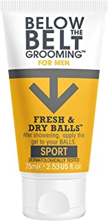 Below the Belt Grooming Fresh and Dry Balls, 75 ml, Active