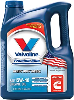 Valvoline Premium Blue SAE 15W-40 Heavy Duty Motor Oil - 1 Gallon (Pack