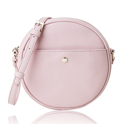 The Lovely Tote Co. Women s Round Cross-Body Circle Purse
