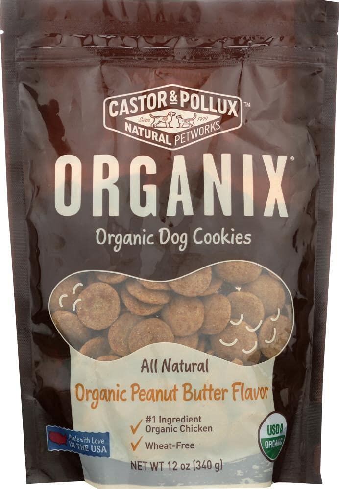 High quality new Castor Pollux Minneapolis Mall - Organix Organic But Peanut Cookies Dog