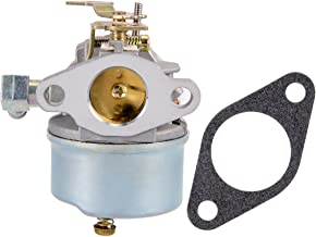 uxcell 640298 Carburetor Carb for Tecumseh 640298 OHSK70 OH195SA Engine 5.5hp 7hp Snowblower Models w Gasket