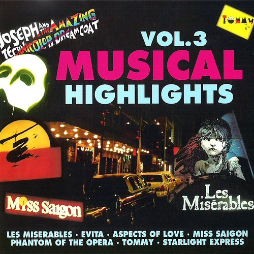 Take That Look Off Your Face & Other Hits from amazing Musicals (Compilation CD, 16 Tracks, Various) Angel of Music Phantom of the Opera / Starlight Express / Mr Mistoffelees Cats / Chanson d'Enface Aspects of Love / Tell me on a Sunday Sond and Dance / I dreamed a dream Les Miserables / Pumping Iron / Empty Chairs and Empty Tables / The Het's on in Saig u.a.