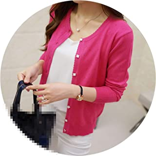 Short Thin Cardigan Women's Sunscreen air Conditioning Shirt Sweater Knitted Outerwear Cape
