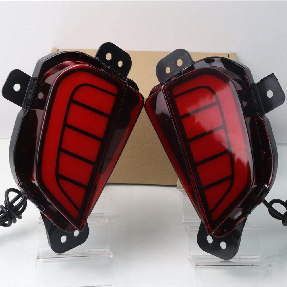 July King Car LED Light Guide New products, world's highest quality popular! Popular overseas Driving + Brake Night Lights