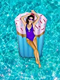 Funny Pool Floats for Adults - Enjoy The Pool in Style with These Pool Inflatables for Adults - Cupcake Pool Floatie