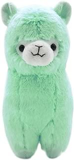 Cuddly Llama Rainbow Green Alpaca Doll 7