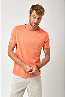 Camiseta Bolso a Fio - Coral