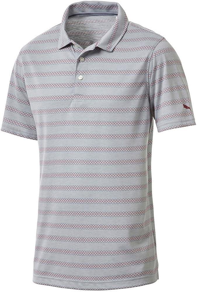 PUMA OFFicial site Men's 576134 Sundays Polo Shirt Medium Orange outlet Vibrant