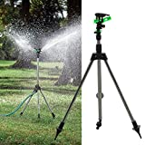 3nh High Quality Tripod Impulse Sprinkler Pulsating Telescopic Watering Grass Lawn Yard Garden