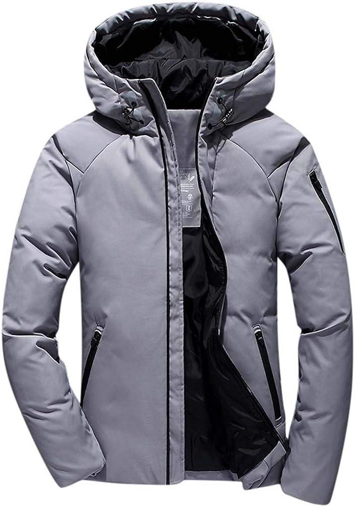 Men's Zipper Jacket Hoodie Coat Long Sleeve Windproof Outwear