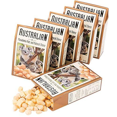 オーストラリア 土産 オーストラリア チーズ&ナッツ 6箱セット (海外旅行 オーストラリア お土産)