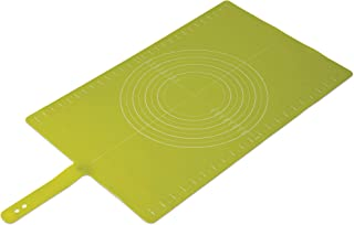 Joseph Joseph Silicone Roll-Up Pastry Mat with Measurements, Green