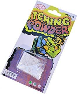 LYPYY Itching powder prank spoof toy props magic adult grams novelty Halloween enhance each other s feelings White