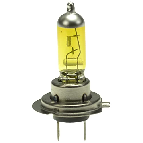HELLA H71070702 Optilux XY Series H7 Xenon Yellow Halogen Bulbs, 12V, 55W 2 Pack