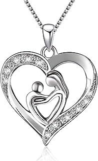 Ganghuo Collier en alliage avec pendentif creux en forme de cœur
