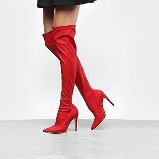 Bota Over The Knee Luiza Barcelos Elastano Ecowear Feminina