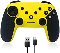 CHENGDAO Wireless Switch Pro Controller for Nintendo Switch Controller with Adjustable Turbo Dual Shock