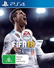 FIFA 18 PS4 Playstation 4 Game