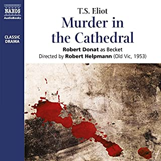 Couverture de Murder in the Cathedral