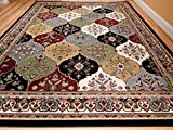 Large Rugs Living Room 8'x11' Multicolor Red Blue Cream Green 8x10 Area Rugs Kitchen Floor Rugs 8x11