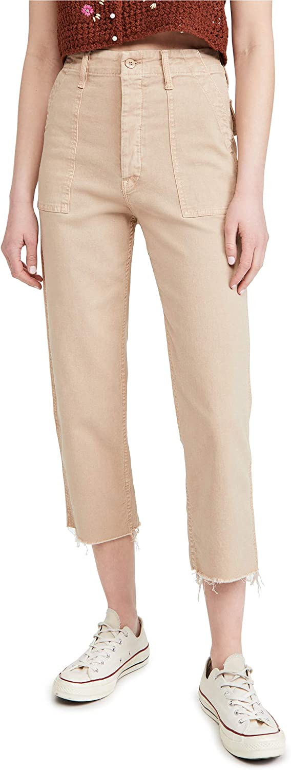 MOTHER Women's The Patch Pocket Private Ankle Jeans
