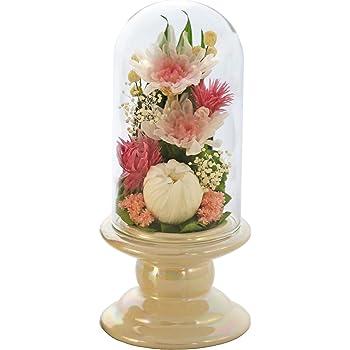 アートフォーシーズン 仏花 (白系)ミニ輪菊glass ピンク プリザーブドフラワー