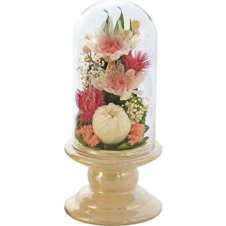 アートフォーシーズン 仏花 ●(白系)ミニ輪菊glass ピンク プリザーブドフラワー