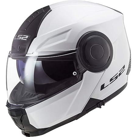 Ls2 Herren Scope Solid Motorradhelm Weiß Xxl Auto