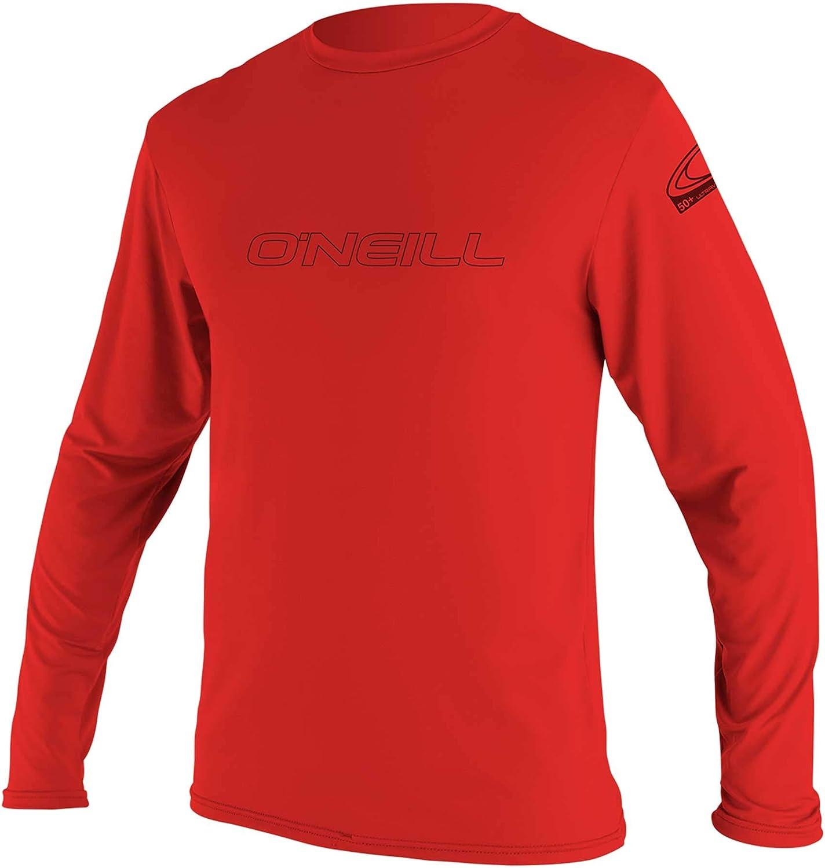 O'Neill Wetsuits Men's Houston Mall O'neill Basic Skins UPF S Long Ranking TOP9 Sleeve 50+