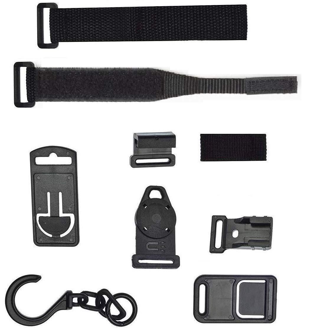 TESTO ZAK168 Magnetic Multimeter Hanging Strap Kit Practical Strong Magnet Multimeter Strap for FLUKE black HIOKI